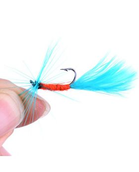LENPABY Fly Fishing Lures Dry Flies Set Floating Flies Hooks for Bass Salmon Trout